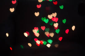 diy heart bokeh photography effect blissfully domestic