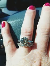 3 carat engagement ring 3 carat engagement ring with baguette shoulders