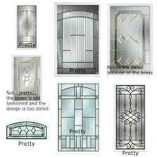 Exterior Glass Door Inserts Front Door Glass Inserts Front Door Glass Inserts Orlando