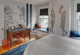 sports murals for bedrooms wall murals decals sports themed interiors sports wall murals