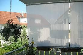 balkon windschutz ohne bohren außenrollo balkon hervorragend außenrollo balkon ohne bohren