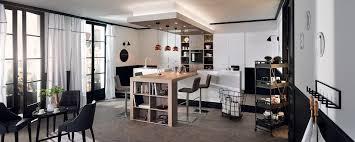 cuisine ouverte avec ilot table des cuisines avec ilot central inspirations et cuisine ouverte avec