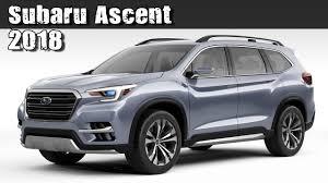 Subaru 3rd Row Seating Tribeca All New 2018 Subaru Ascent Pre Production Concept 3 Row 7 Seat