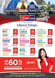 airasia travel fair indonesia airasia travel fair 2017 tumpuan vacation sdn bhd