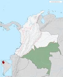 Amazon Rainforest Map Amazon Natural Region Wikipedia