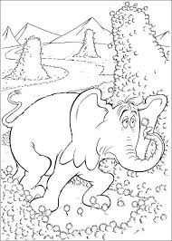 kids fun uk 65 coloring pages horton dr seuss