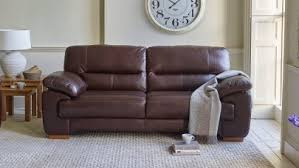 Leather Sofa Brown Sofas 7 Day And Free Delivery Available Oak Furniture Land