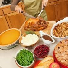 cooking a large thanksgiving dinner thriftyfun