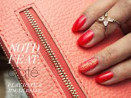 coral notd feat ciate nail polish in play date u0026 jingle belle