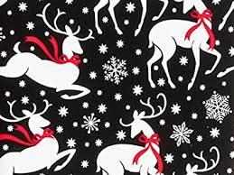 christmas gift wrap reindeer and snowflakes christmas gift wrap