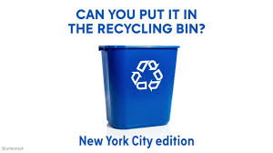 new york city recycling guide here u0027s what you can put in the bin