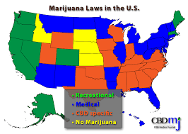 Medical Marijuana Legal States Map by The State Of Marijuana Is Cannabidiol Cbd Legal Under U S Law