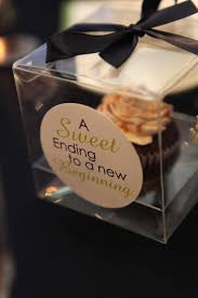 cupcake wedding favors lovely events mtl cupcake wedding favor