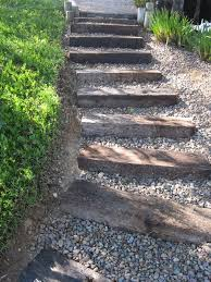 sleepers railroad ties for landscaping u2014 home design ideas
