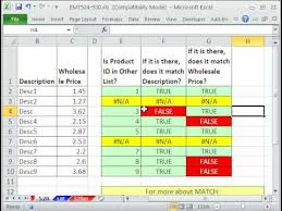 excel compare two tables find only matching data excel magic trick 528 check two lists for discrepancies match and