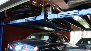 bendpak tandem vehicle storage and car parking lift youtube
