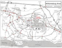williamsburg map of colonial williamsburg