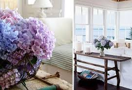 Floral Interiors 25 Modern Interior Decorating Ideas Complimented With Hydrangea