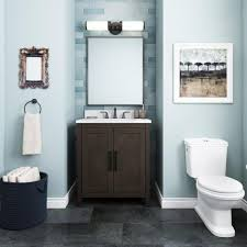what color goes with brown bathroom cabinets home decorators collection leary 30 in w x 34 5 in h bath