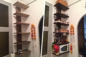 cuisine avec etagere fabrication d étagère en bois pour cuisine avec laboutiquedubois com