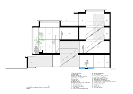 Living Room Architecture Drawing Gallery Of 7x18 House Ahl Architects Associates 45 45 Of And 1