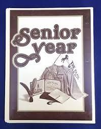 senior year memory book vintage senior year scrapbook photo album diary memory book