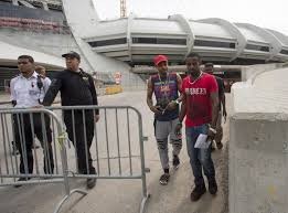Seeking Montreal Montreal S Olympic Stadium Becomes Shelter As Haitian Refugees