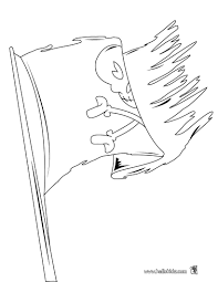pirate flag coloring pages many interesting cliparts
