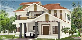 nice villa elevation design in 2600 sq feet home kerala plans