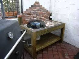 how to build a weber grill table collection of grills outdoor cooking ideas kettle grill cart
