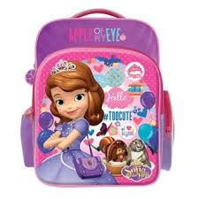 disney princess sofia bag pink purple colour lazada