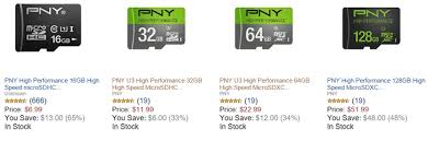 best micro sd card black friday deals deal alert amazon gold box has pny microsd cards on sale