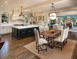 kitchen incredible and dining room design impressive combination