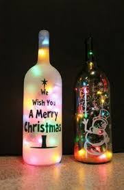 lights made out of wine bottles a cheap and easy way to add charm to any room without cutting glass