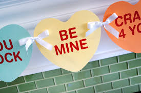 s day heart candy easy diy s day printable banner free printables