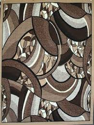Discount Modern Rugs 2038 Beige Abstract Contemporary Area Rugs Contemporary