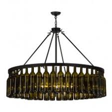 Wine Bottle Chandeliers Wine Country Chandeliers Wine Country Accents Home Decor