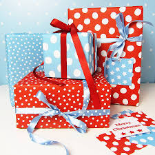 sided christmas wrapping paper spotty sided wrapping paper p a p e r wraps