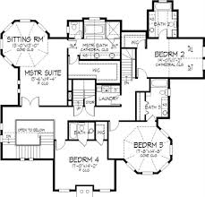 second floor plans country house plans home design ls 98872 l 21377