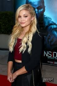 halloween horror nights 2015 theme hollywood olivia holt at halloween horror nights celebration 09 18 2015