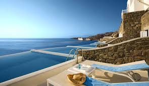 hotel piscine dans la chambre hôtel cavo tagoo grèce