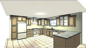 dessiner une cuisine en 3d conception cuisine argileo