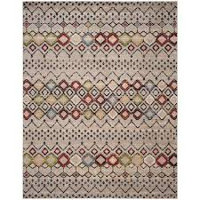 gray southwestern area rugs rugs the home depot