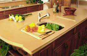 kitchen island with cutting board top built in glass cutting board home design ideas
