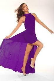 violet dress parides official website fit and flare dresses in violet