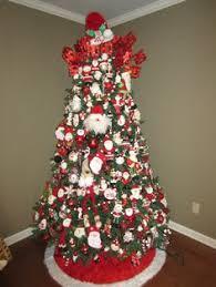 blue ribbon kitchen santa photo tree tree and