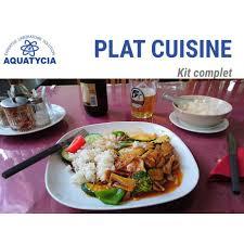 plat cuisiné analyse aliment plat cuisiné aquatycia sas