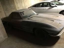 corvette parts los angeles corvettes on ebay los angeles garage find 1963 corvette swc