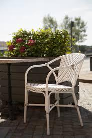 White Bistro Chair Sika Design Valerie Outdoor Bistro Chair Bistrofurniture Com
