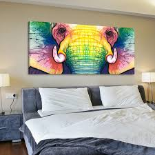 large single abstract modern african animal canvas elephant prints art picture elephant painting for living room